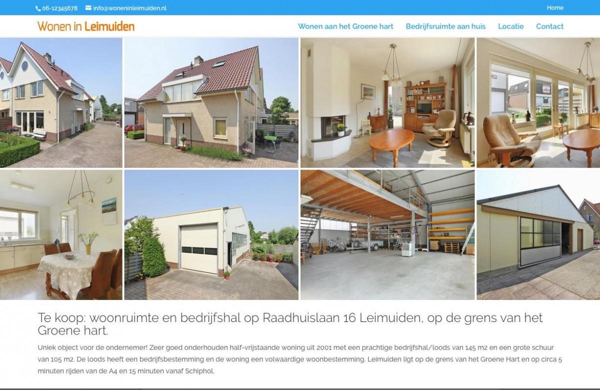 Verkoop eigen huis promotie website for Huis verkoop site